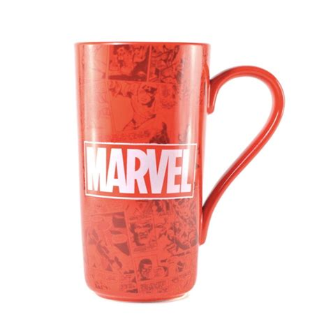 Mug Keramik Ceramic Marvel Original marvel logo latte mug ceramic coffee cup comic