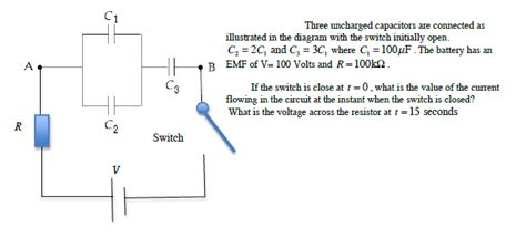 an uncharged capacitor and resistor are connected in series to a battery an uncharged capacitor and resistor are connected in series 28 images physics archive july