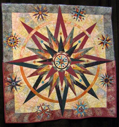 Compass Quilt Pattern by 25 Best Ideas About Mariners Compass On