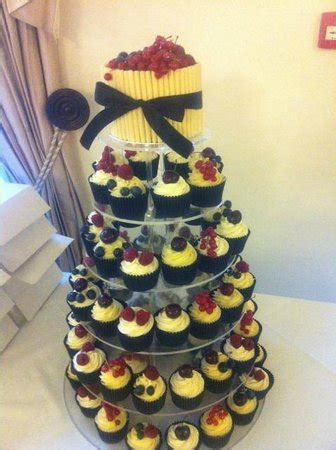 house of cupcakes fresh fruit wedding tower picture of the little house of cupcakes thornton