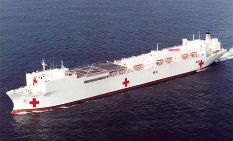 usn comfort msc ship inventory hospital ships