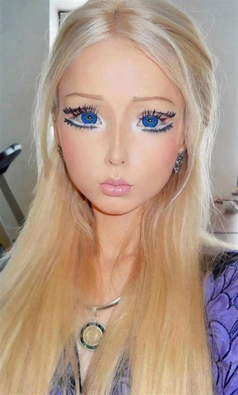 human barbie doll boyfriend heard of human barbie doll is she i am confused