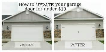 home depot garage door decorative hardware garr den of garage door makeover