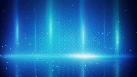 and blue lights blue light stripes and particles loopable background