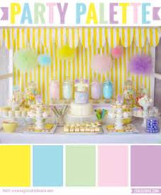 baby shower colors for palette pastel pop baby shower chickabug