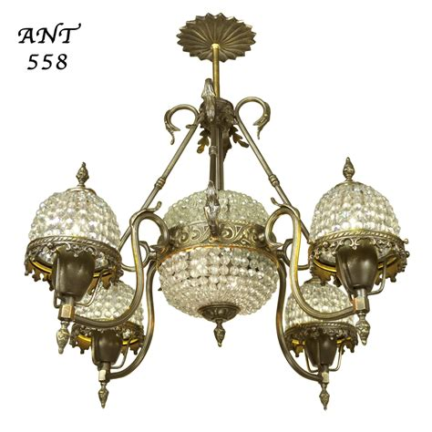 basket chandeliers basket style antique chandelier 4 arm
