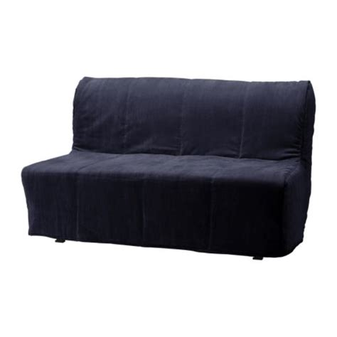 futon chair covers lycksele murbo sofa bed hen 229 n black ikea