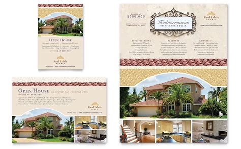 real estate advertisement template luxury real estate flyer ad template word publisher