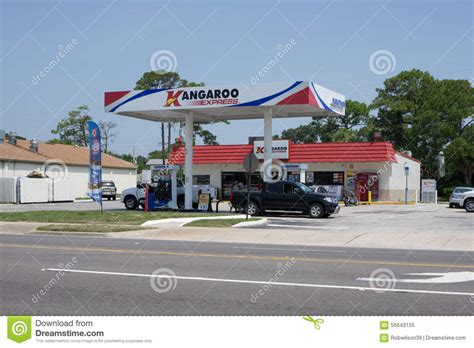 Pantry Kangaroo by Gas Station Editorial Image Image 56643155