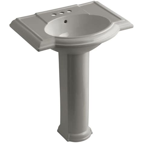 Pedestal Sink And Toilet Combo American Standard Portsmouth Vitreous China Pedestal