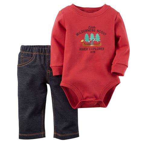 Carters Pant 3 In 1 24 Month carters newborn 3 6 9 12 18 24 months bodysuit set baby boy clothes ebay
