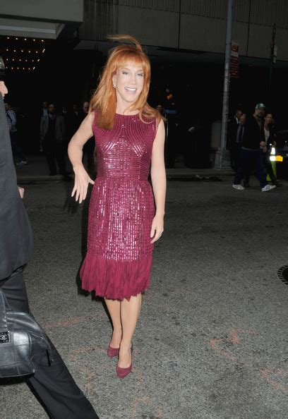 Kathy Griffin Eats It by I Ll Eat You Last Opening In Nyc Zimbio