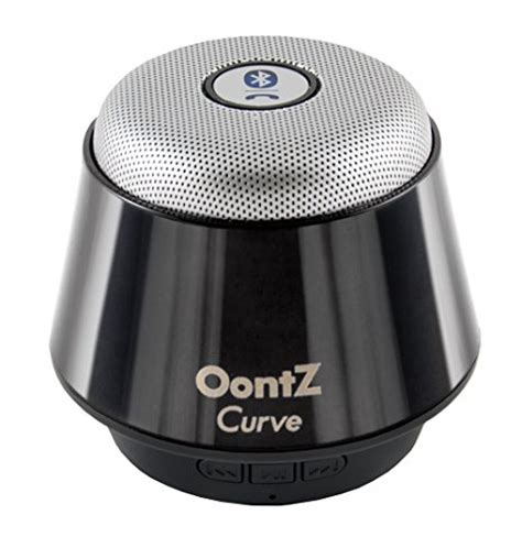 Speaker Oontz oontz curve bluetooth speaker ultra portable wireless 360 degree sound with built in