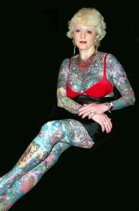 most tattooed woman