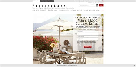 Potterybarn Sweepstakes - sweepstakeslovers daily pottery barn la z boy more