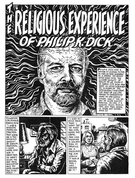 Now That Ive Read Michael Crowleys Cri De Wee In by The Religious Experience Of Philip K By R Crumb