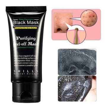 black mask shills shills deep cleansing blackhead peel off removal black