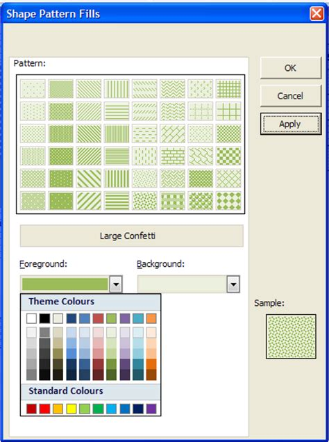 powerpoint shape pattern fill powerpoint pattern fill