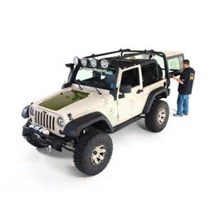 Rugged Ridge Rack Rugged Ridge Jeep Wrangler Jk 2 Dr 07 Up Sherpa Roof Rack