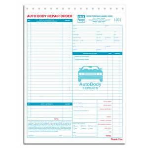 mechanic shop work order template automotive repair invoice work order estimates