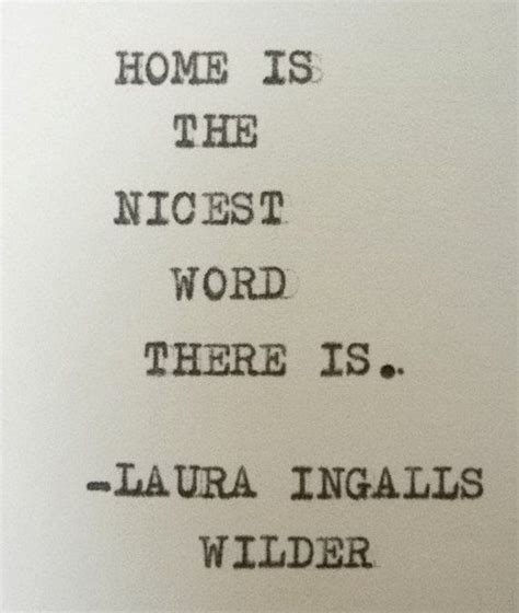 home quote ingalls wilder quote home sweet home
