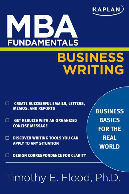 Mba Hr Cloud by Mba Fundamentals Business Writing Book By Timothy E