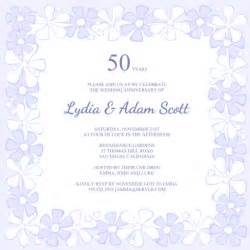50th Wedding Invitation Templates by 8 Best Images Of Free Printable Anniversary Invitations