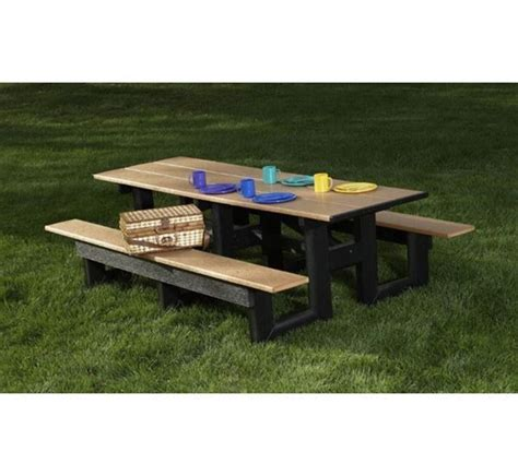 8 Ft Plastic Table by 8 Ft Recycled Plastic Commercial Picnic Table Rectangular