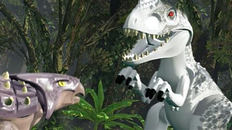 Lego Wall Stickers lego jurassic world indominus rex vs ankylosaurus full