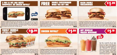 burger king printable vouchers uk 7 ways to cheap and tasty fast food food student hacks