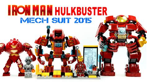 Lego Bootleg Iron War Machine Marvel Civil War Lele lego iron hulkbuster mech suit tony stark laboratory