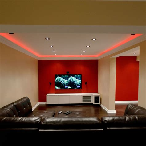 Finishing Basement Ideas basement modern basement toronto by spaces inc