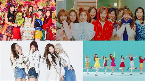 blackpink vs twice 2017 march girl group brand reputation rankings revealed soompi