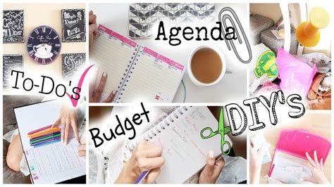 organise and organize get your life organized tips easy diy s youtube