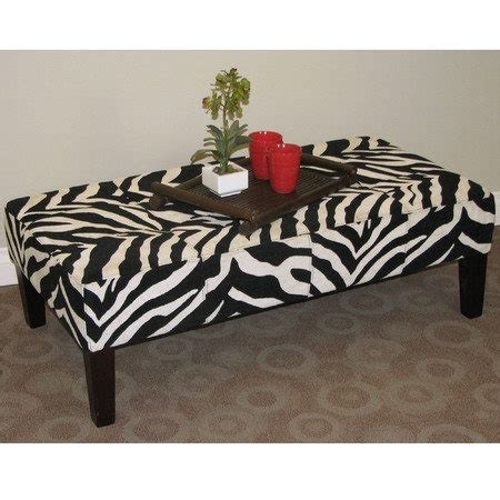 zebra ottoman coffee table tebogo zebra coffee table or ottoman zebra print pinterest