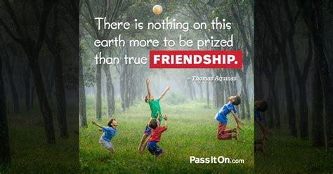 earth    prized  true friendship thomas aquinas