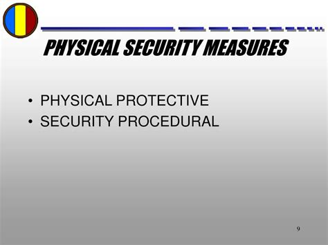 what is not a physical security measure for your home 28