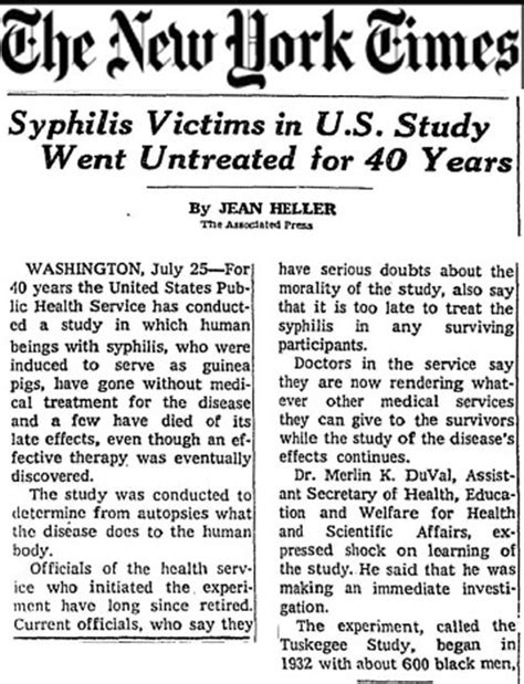Tuskegee Experiment Essay bad blood tuskegee syphilis project psy3405 health psychology 2015