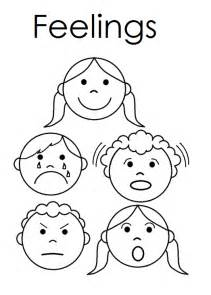 feelings coloring worksheet coloring pages