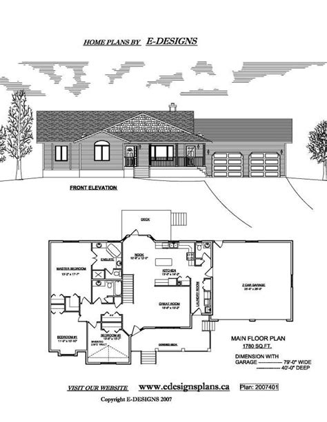 basement house plans with walkout basement