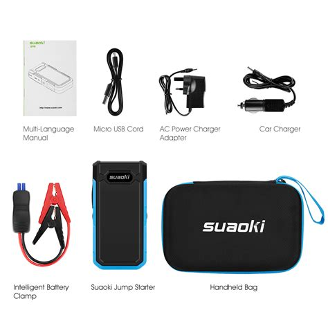 jump start with battery charger 20000mah 800a car jump start starter battery charger power