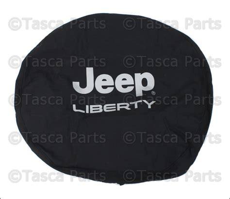 Spare Tire Covers For Jeep Liberty New Oem Mopar Black Denim Spare Tire Cover 2002 2007 Jeep