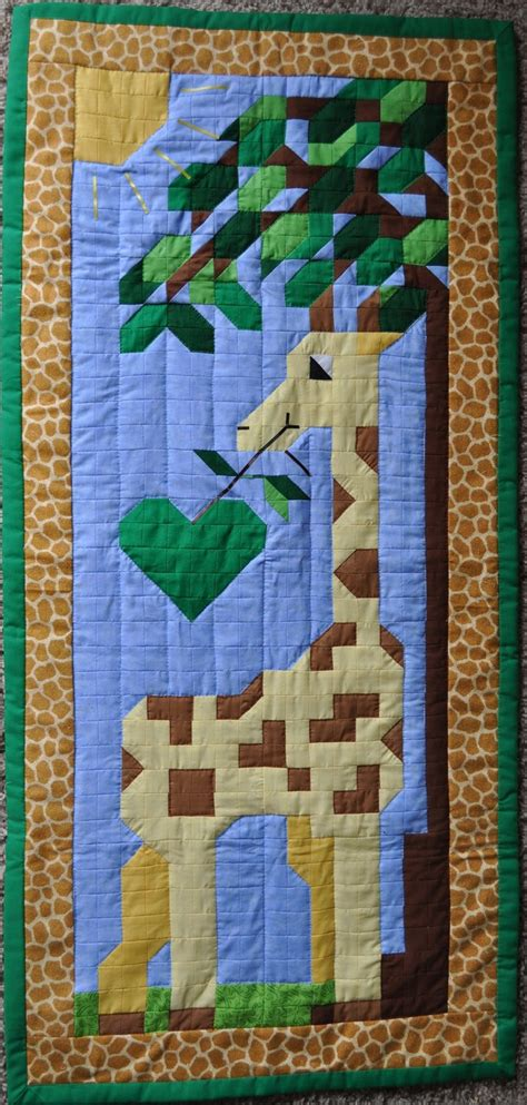 Giraffe Quilt Patterns by 17 Best Images About Giraffe On Jungle Animals