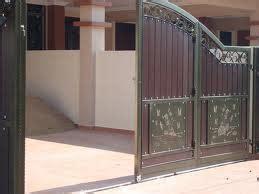 desain gapura stainless rumahmewah2016 desain pintu pagar rumah terkini images