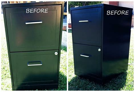 Metal Filing Cabinet Makeover Metal File Cabinet Makeover Diy Inspired