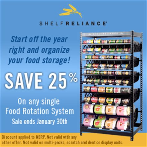 25 food rotation systems a thrifty recipes