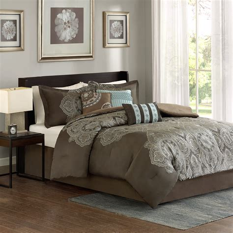 madison park comforter sets madison park capella 7 piece comforter set ebay