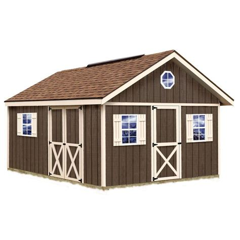 6 X 16 Shed by Best Barns Fairview 12 Ft X 16 Ft Wood Storage Shed Kit