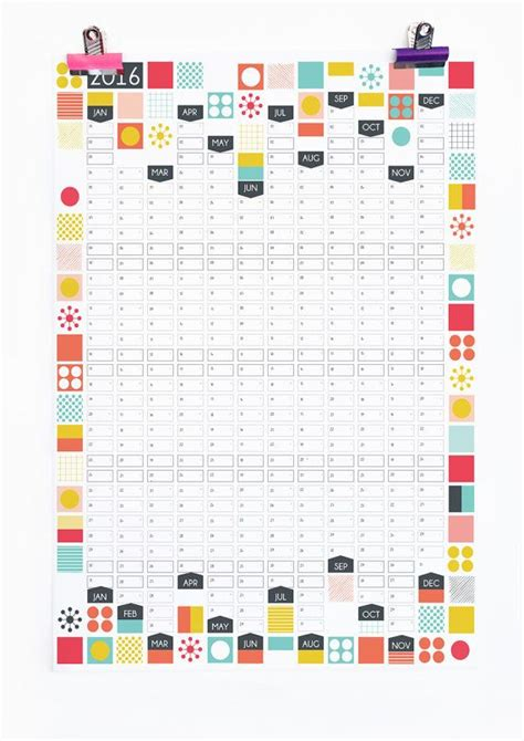 free printable wall planner a3 25 b 228 sta wall planner id 233 erna p 229 pinterest kalender och
