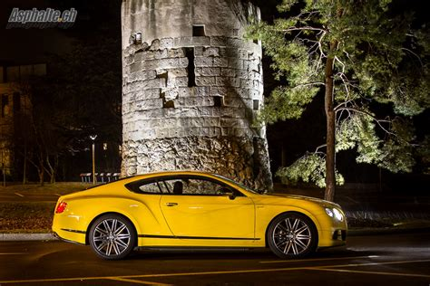 bentley yellow road test bentley continental gt speed auto news